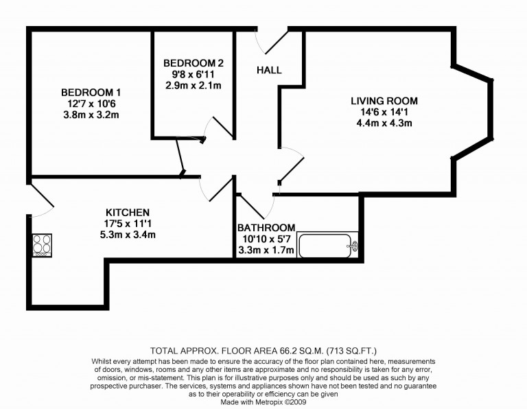 Floorplans For Church Road, 107 Church Road, Richmond
