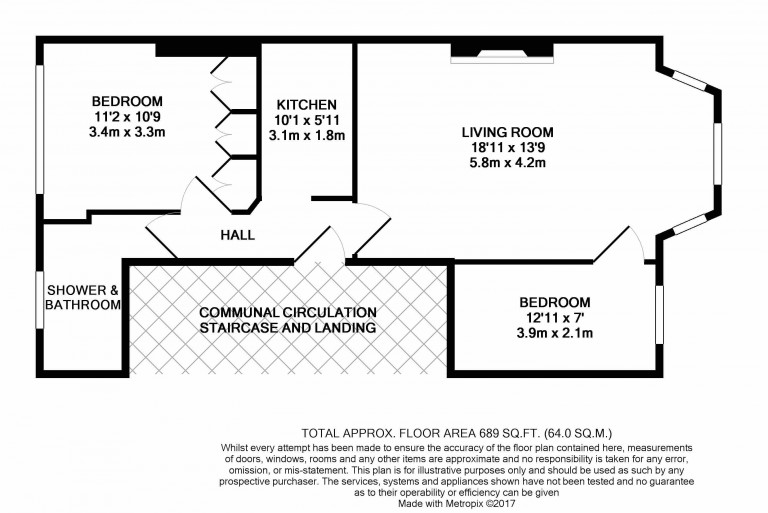 Floorplans For Cambridge Park, 4 Cambridge Park, Twickenham