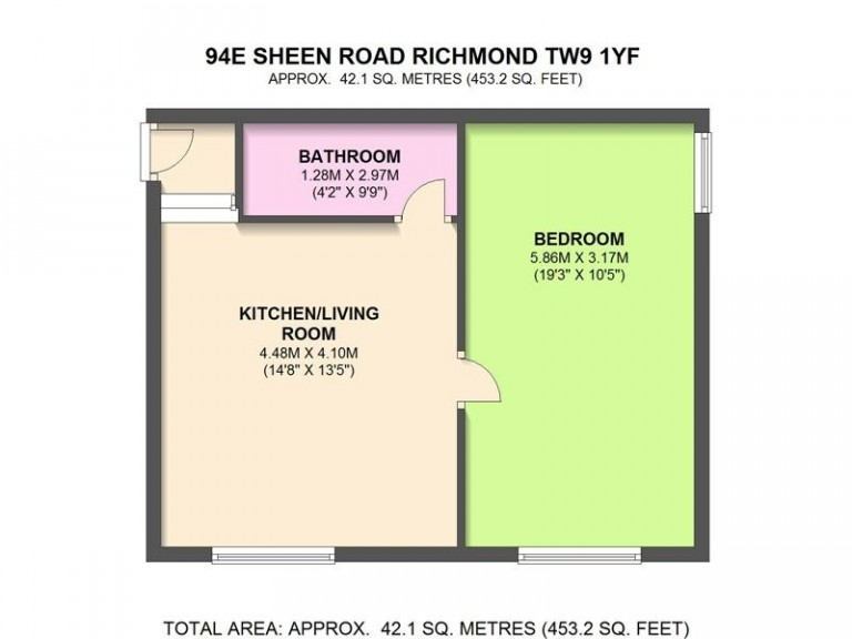 Floorplans For Sheen Road, Richmond